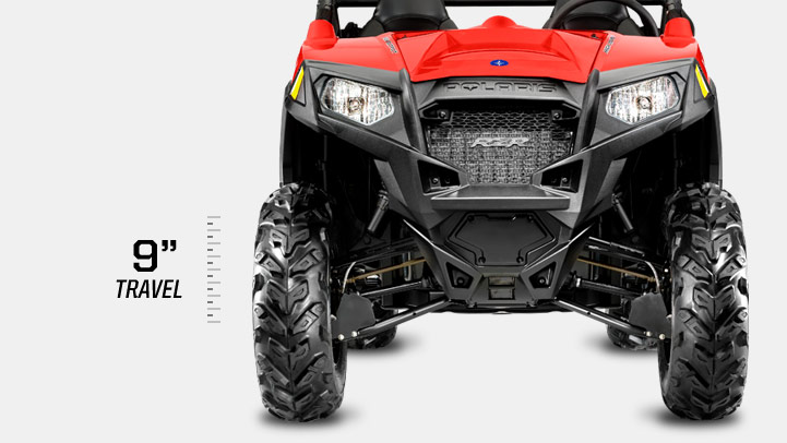 RZR 570 - SUSPENSION AVANT INCOMPARABLE